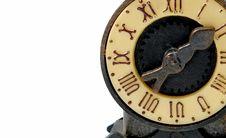 Free Old Clock Royalty Free Stock Photo - 7882845
