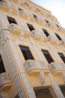 Free Decorative Balconies Royalty Free Stock Photos - 7883288