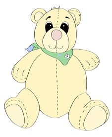 Free Pastel Teddy Royalty Free Stock Photography - 7884077