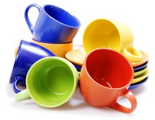 Free Color Cups Stock Photo - 7884740