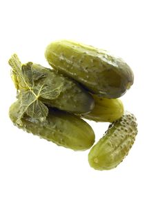 Free Pickled Cucumber Stock Photography - 7884832