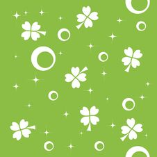 Free Seamless Pattern With Quatrefoils Royalty Free Stock Photography - 7885787