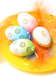 Free Easter Eggs Royalty Free Stock Photo - 7885975