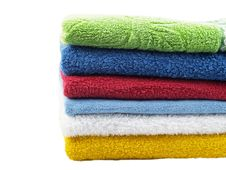 Free Color Towels Stock Photos - 7886383