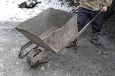 Free Wheelbarrow Royalty Free Stock Photo - 7886465