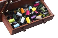 Free A Lot Of The Tailor S Accessories To Sewing Royalty Free Stock Image - 7887076