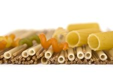 Free Colorful Noodles Over White Royalty Free Stock Photo - 7887125