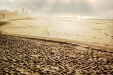 Free Beach With Texture Stock Image - 7887431