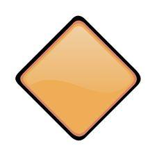 Free Blank Warning Sign Stock Photos - 7887693