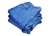 Free Pile Of Jeans Royalty Free Stock Photography - 7888517