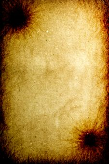 Free Old Burnt Paper Texture Background Stock Photography - 7889392