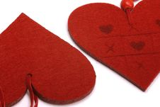 Free Red Hearts Royalty Free Stock Photo - 7889685
