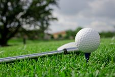 Free Ball And Club Shade Mirror Stock Photography - 7889842