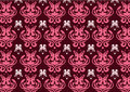 Free Retro Abstract Floral  Pattern Royalty Free Stock Images - 7893079