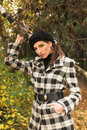 Free Young Woman In Autumnal Park Royalty Free Stock Images - 7894409