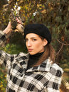 Free Young Woman In Autumnal Park Royalty Free Stock Images - 7894449