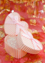 Free Heart Shaped Gift Boxes Royalty Free Stock Photography - 7894517