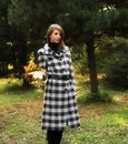 Free Young Woman In Autumnal Park Royalty Free Stock Photography - 7894687