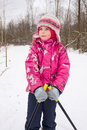 Free Girl On Cross-country Ski Stock Images - 7894944