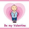 Free Valentine S Card Stock Image - 7898421