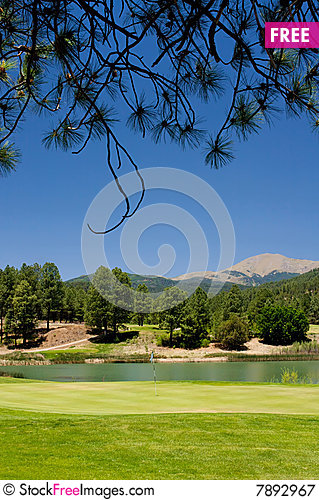 Free A Gorgeous Golf Course In Arizona Royalty Free Stock Photography - 7892967