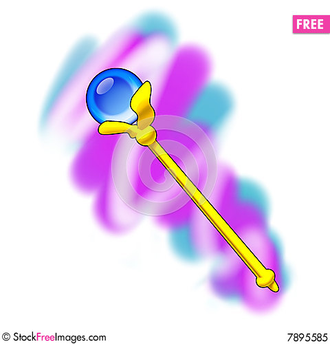 Free Magic Scepter Royalty Free Stock Photo - 7895585