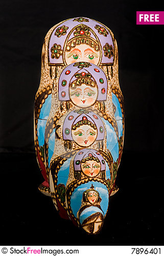 Free Russian Dolls Stock Image - 7896401