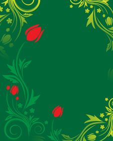 Free Floral Background Royalty Free Stock Photos - 7890748