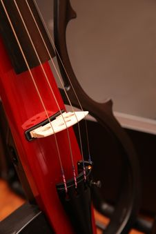 Free Fragment Of Violin Stock Photos - 7890833