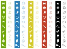 Free Icons Royalty Free Stock Photography - 7891077