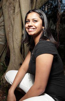 Free Woman Smiling Stock Image - 7891291