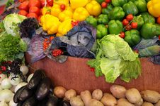 Free Fresh Vegetable Variety Stock Images - 7891744