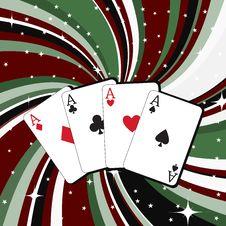 Free Gambling Cards Stock Photos - 7892213