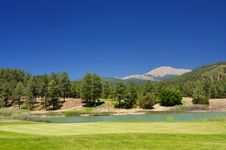 Free Gorgeous View From An Arizona Golf Course Royalty Free Stock Photo - 7892725