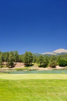Free Golf Hole In Arizona Royalty Free Stock Photos - 7892738