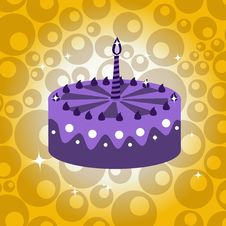 Free Birthday Cake Stock Photo - 7892740