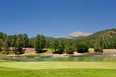 Free A Gorgeous Golf Course In Arizona Royalty Free Stock Photos - 7893038