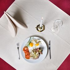 Free English Breakfast On The Table 2 Royalty Free Stock Photography - 7893077