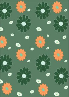 Free Floral  Pattern Stock Photo - 7893090