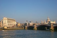 Free View Across River Thames Stock Photos - 7893623