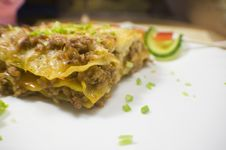 Free Lasagna Royalty Free Stock Image - 7893916