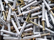Free Screws And Dowels Stock Images - 7894764