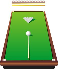 Free Billiard Table Stock Photo - 7895230