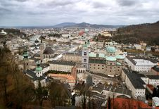 Free Historical Center Of Salzburg, Austria Stock Photography - 7895342