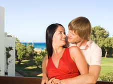 Free Happy Young Couple Royalty Free Stock Photography - 7895377