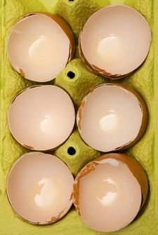 Free Eggshell Royalty Free Stock Photography - 7895817
