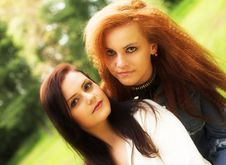Free Best Friends Royalty Free Stock Photo - 7895845