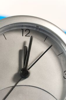 Free Closeup Of A Clock Face Stock Images - 7896034