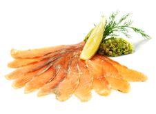 Free Soft Salt Salmon Royalty Free Stock Photo - 7896335