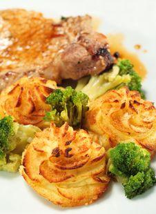 Free Pork Brisket With Potato Stock Photos - 7896423